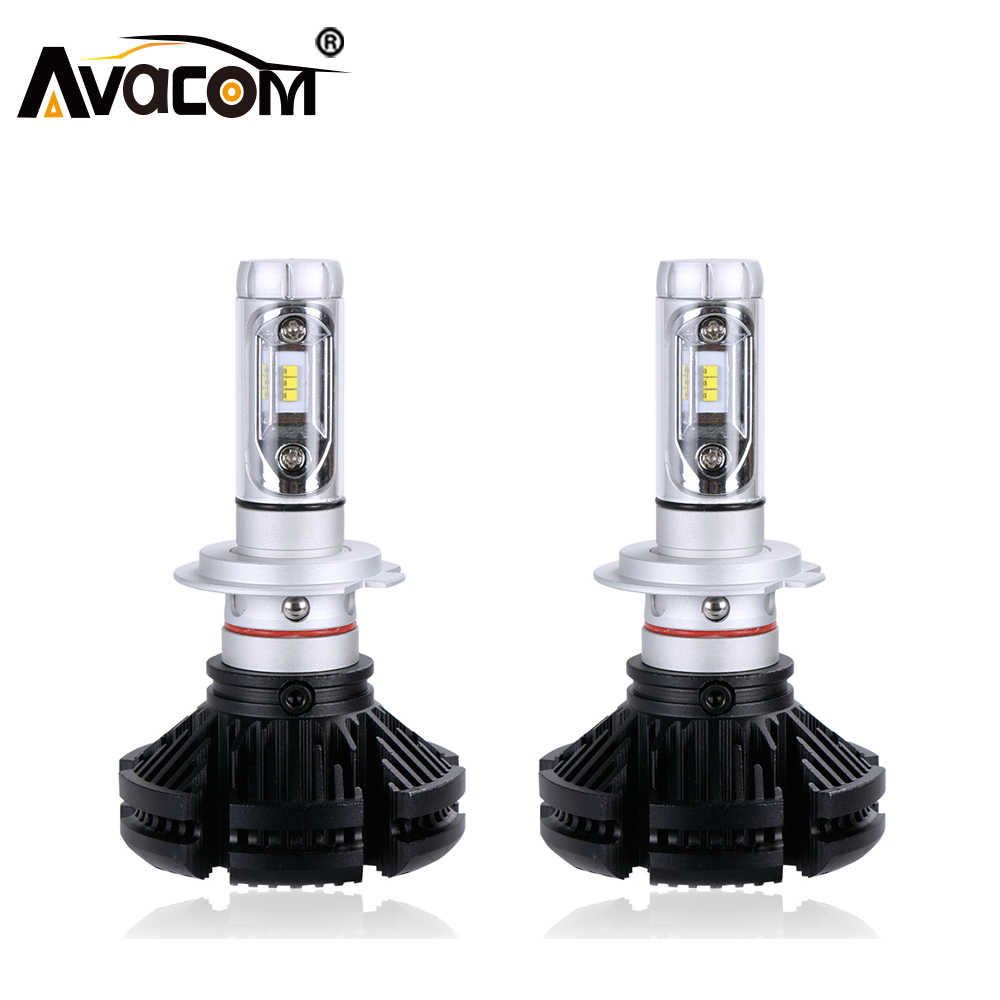 Avacom Car LED Headlight H7 12V LED Bulb 50W 12000lm Hi-Lo Beam 6500K Car-styling LED Lamp Automobiles Car Light  Accessories
