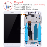 Original Tested For Xiaomi Redmi Note 4X LCD Display Touch Screen Digitizer With Frame Assembly LCD