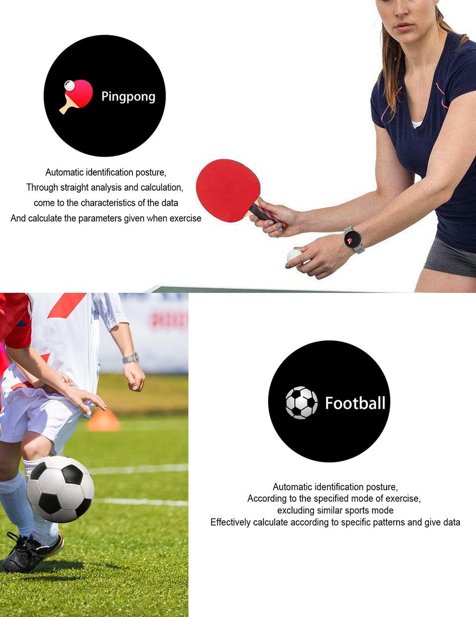 SIKEMEI Fitness Touch Screen Sport Waterproof Smartwatch