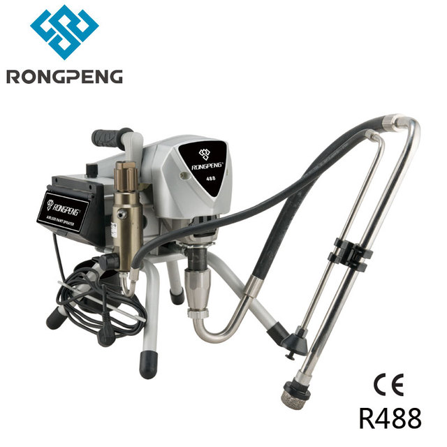 Rongpeng Electronical Airless Paint Sprayer Machine R488 Motor 1200W ...