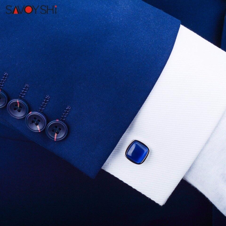 Elegant Green Opal Stone Mens Business Wedding Party Gift Shirt Cufflinks