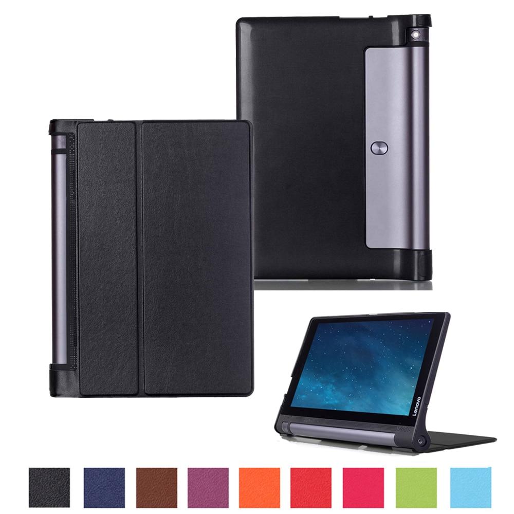 ①  Lenovo Yoga Tab 3 10 X50L X50F Планшетный чехол с подставкой из искусственной кожи Lenovo Yoga Table ★