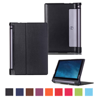 For Lenovo Yoga Tab 3 10 X50L X50F Tablet Case Stand Pu Leather Cover For Lenovo