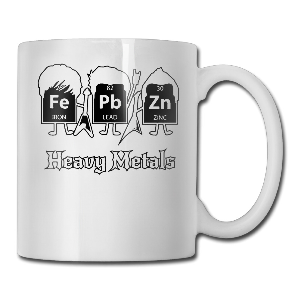Heavy Metals Periodic Table Science Gift Nerd Graphic Band