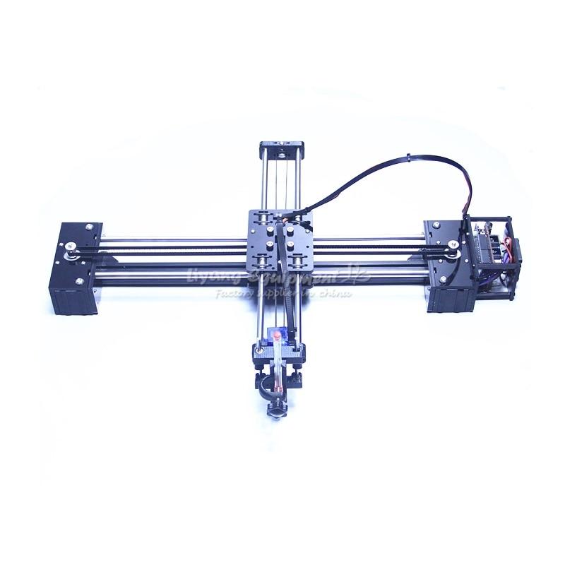 DIY drawbot pen drawing robot machine lettering corexy XY-plotter robot for drawing writing недорго, оригинальная цена
