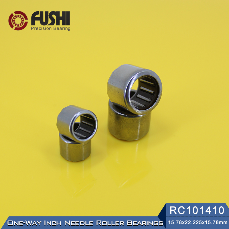 RC101410 Inch Size One Way Drawn Cup Needle Bearing 15.87*22.225*15.87 mm ( 2 Pcs ) Cam Clutches RC 101410 Back Stops Bearings