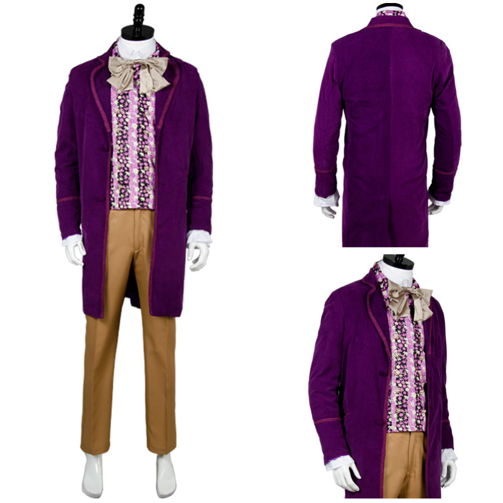 Willy Wonka and the Chocolate Factory 1971 Cosplay Costume