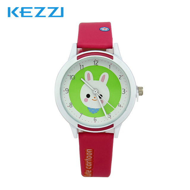 Lovely Watch Gifts for Grils Boys Children's WristWatch Analog Quartz Watches Kids Watches Cute Saati cartoon Yellow Leather
