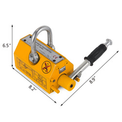 super magnetic lifter,strong power permanent magnetic plate lifter/steel plate magnetic lifter