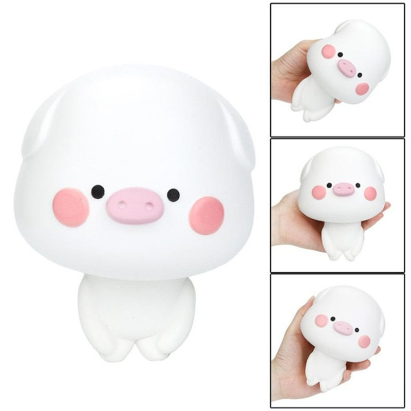 Squishy Cute Pig Scented Slow Rising Collection Squeeze Stress Reliever Toy Slow Rising  ...
