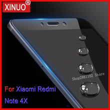 Tempered Glass For Xiaomi Xiami Xaomi Xiomi Redmi Note 4 X 4X Note4 Note4X Full Coverage 3D Screen Protector Protective Films