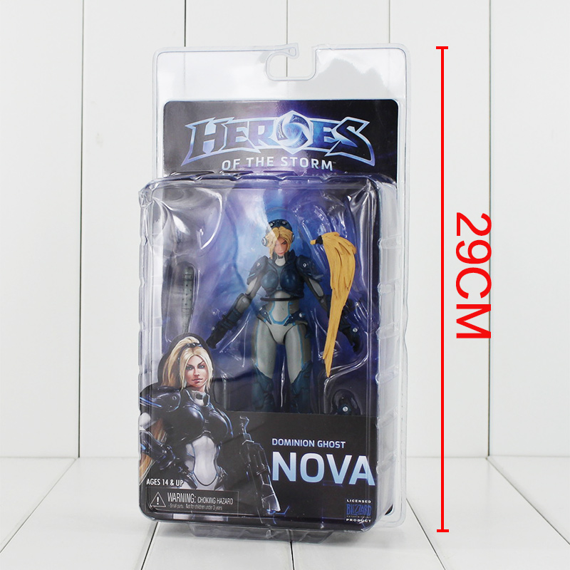 15cm NECA Heroes of The Storm Dominion Ghost NOVA PVC Action Figure Collectible Model Toys Doll with Box  legion illidan heroes of the storm pvc action figure collectible model toy 7 18cm kt1816