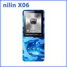 Deporte reproductor de mp3 auriculares bluetooth con 1.8 pulgadas de pantalla reproductor de música mp3 Soporte de radio fm Ranura Para Tarjeta Micro DEL TF 32 GB MP3 ni'lin x06