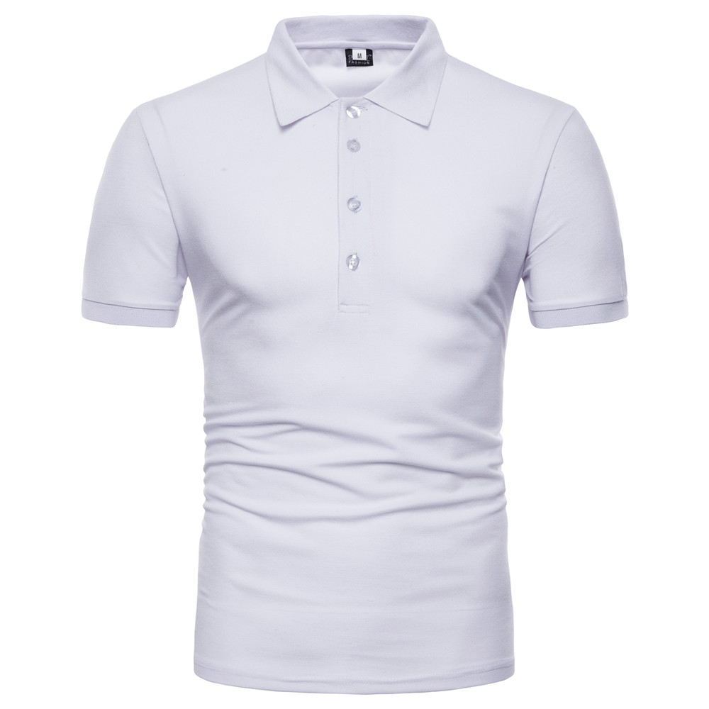 American flag print   POLO   shirt quick-drying elastic breathable men's short sleeve mature stable   POLO   shirt PL06