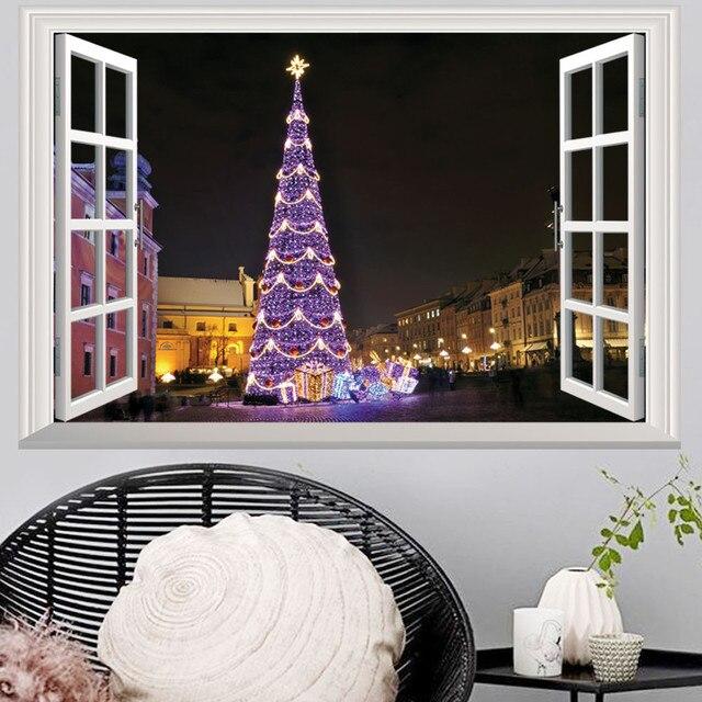 Hot koop Nieuwe collectie Decoratie Sticker Vinyl Muur Kerst ...