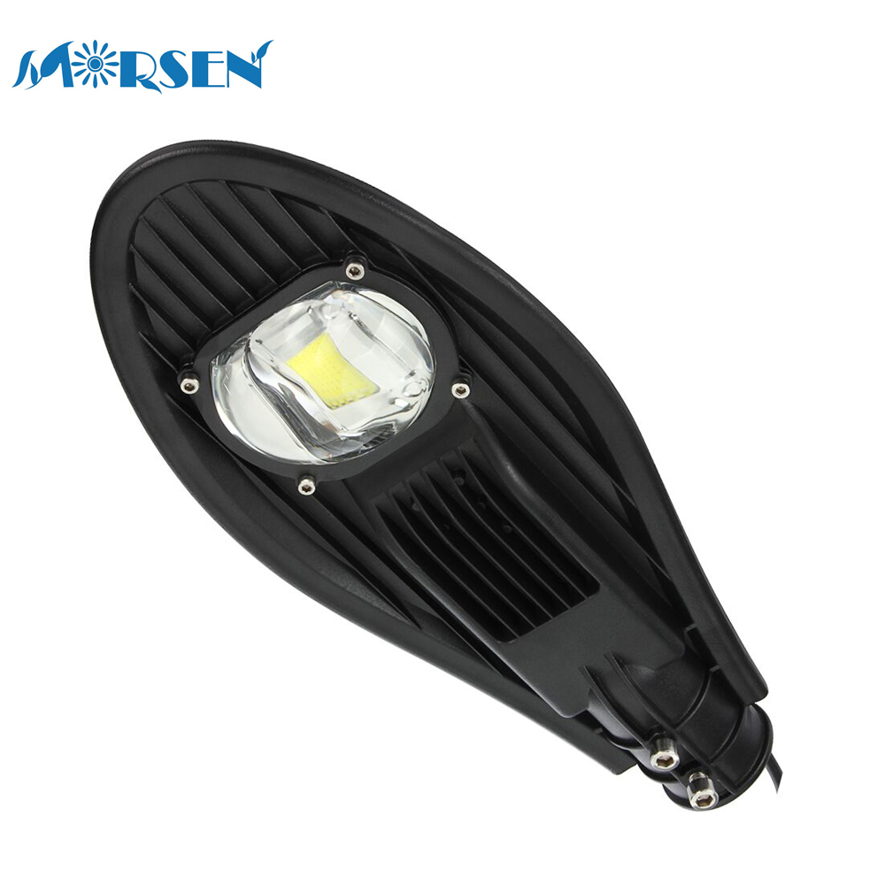 1pcs LED Street Light Lamp 30W Waterproof IP65 AC85-265V Energy Saving Streetlight Path Garden Road Security Led Lamp Outdoor#25 sale ac85 265v 60w led street light ip65 bridgelux 130lm w led led street light 3 year warranty 1 pcs per lot