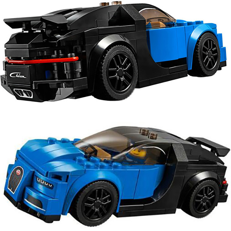 Lepin Techni 28002 Super Racer Series Blue Racing Aston Martin Car Building Blocks Bricks Model Gift Toys for Children 75878 building blocks super heroes back to the future doc brown and marty mcfly with skateboard wolverine toys for children gift kf197