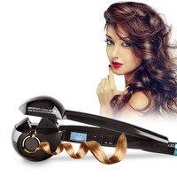 New Professional Hair Curler Styling Tools Digital Ceramic Wave Hair LCD Titanium Automatic Hair Volume Magic