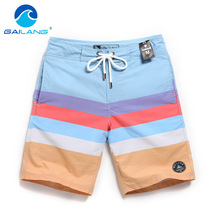 Gailang Brand Boardshorts Board Beach Shorts Swimwear Swimsuits Men's Casual Bermuda