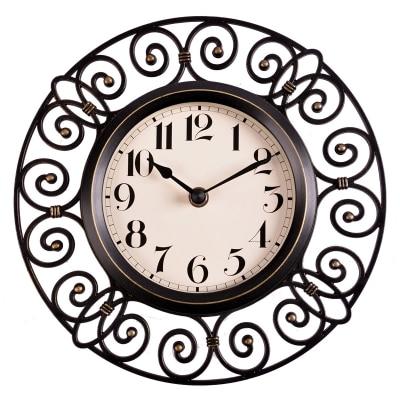 10 inch crafts vintage decorative wall clock modern design. Black Bedroom Furniture Sets. Home Design Ideas