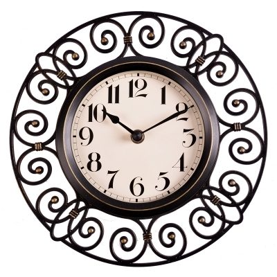 10 Inch Crafts Vintage Decorative Wall Clock Modern Design Silent Quartz Home Decoration Unique Clocks