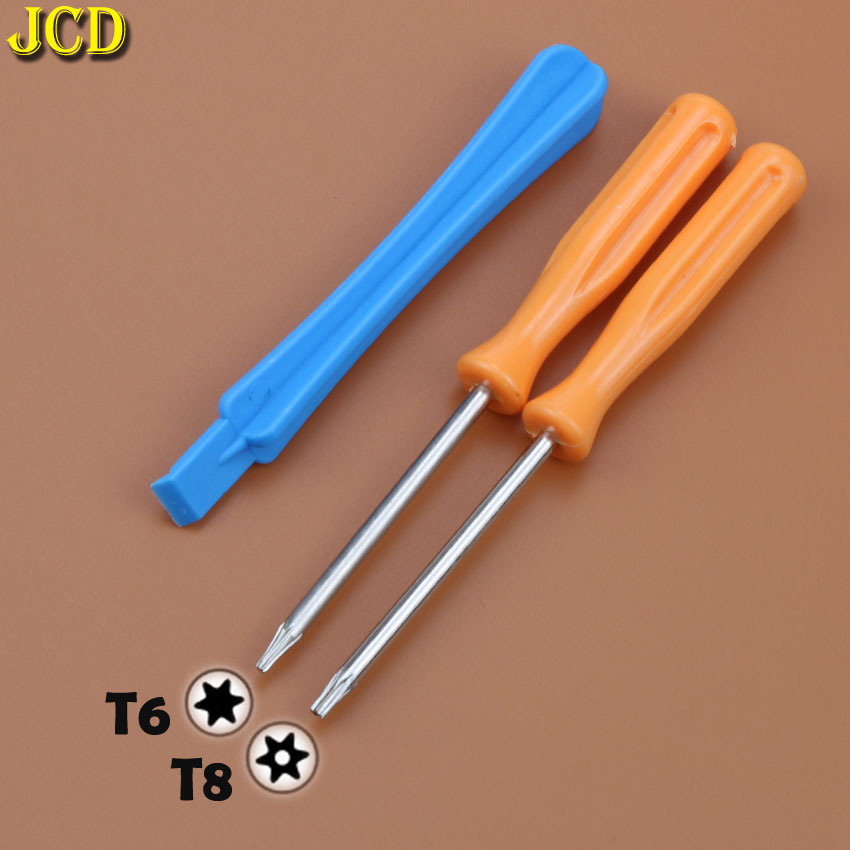 JCD Game Tools Kit For Xbox One S Slim / Elite Controller Torx T8H T6 Screwdriver Handle Tear Down Repair Tool