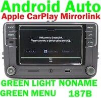 RCD510 RCD330 RCD330G Plus Radio Green Button Light Carplay Android Auto For Skoda Octavia Fabia Superb