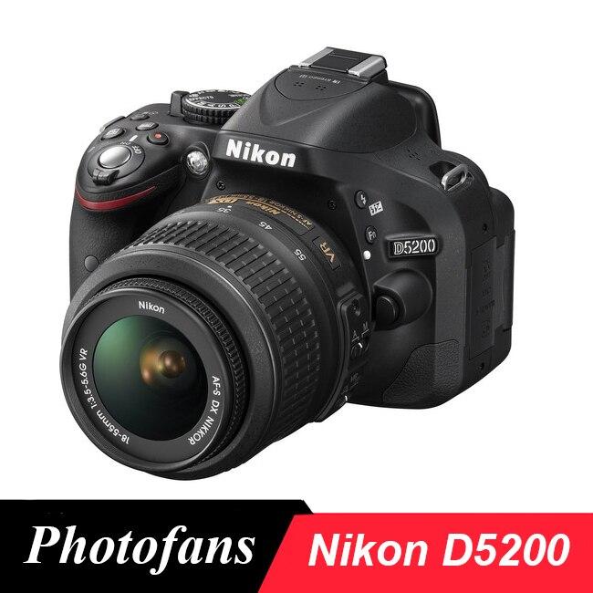 Nikon Câmera DSLR-24.1MP D5200-Video-Vari-Ângulo LCD (Brand New)