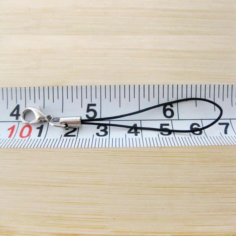 2 unids/lote DIY broche de langosta para la fabricación de joyas llavero para mujer bolso carteras de teléfono llavero adornos llavero anillo Accesorios