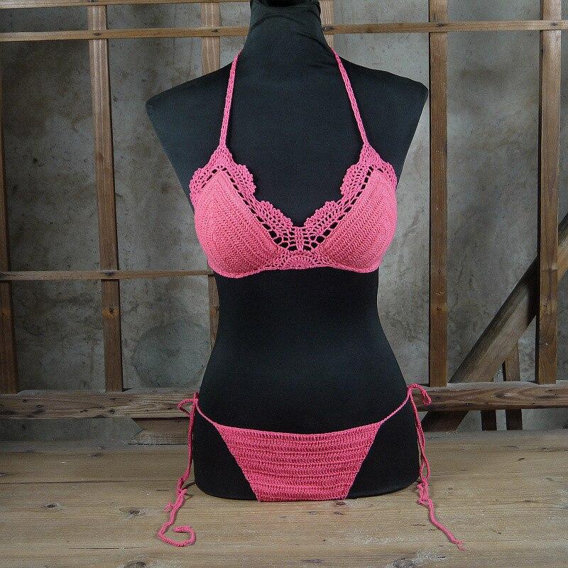 Excepcional Patrón Del Bikini De Ganchillo Gratis Ideas - Manta de ...
