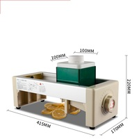 Commercial Multifunctional Manual Vegetable Fruit Food Slicer Food Grade Lemon Potato Chips Slicer Machine 1 10mm Chips Maker
