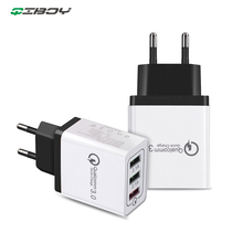 18W Quick Charge 3.0 2.1A Multi USB Charger Fast EU Plug Wall Adapter Mobile Phone Charging For iPhone 8 7 Samsung Xiaomi QC 3.0 цены