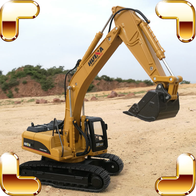 New Year Gift 1/40 Digger Excavator Machine Metal Model Big Engineering Truck Vehicle Car Simulation Alloy Static Die-cast estimation of shrinkage of cast al si alloy using simulation