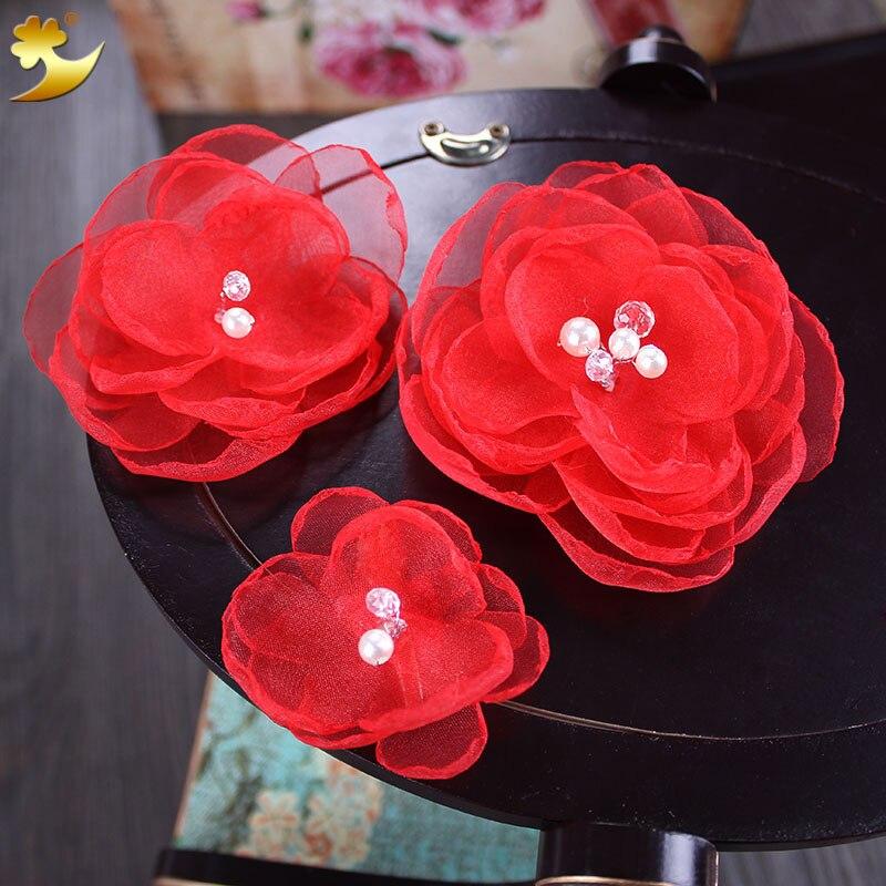 Wedding Gifts From Hawaii: Women New Fashion Flower Hair Clip Hairpin Bridal Hawaii