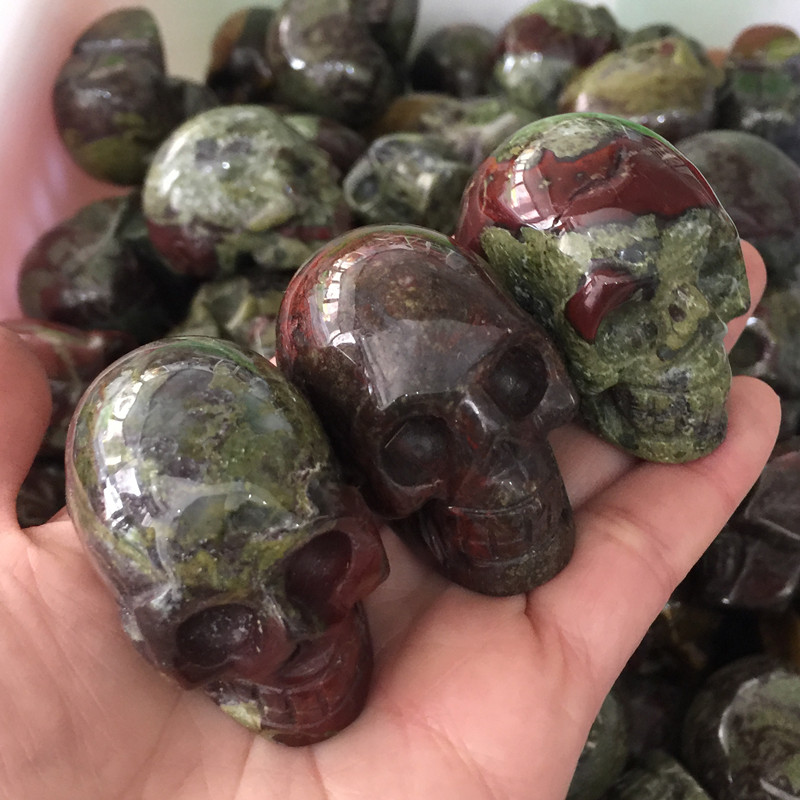 Natural Dragon Blood Stone Crystal - Year of Clean Water