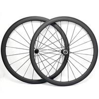 free shipping carbon road wheels 38x25mm wheels powerway R36 ceramics clincher wheel 700c carbon bike road wheels 18/21