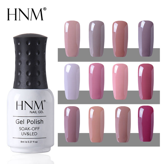 MSHARE Translucent Gel Lacquer Semi Transparent Nail Jelly
