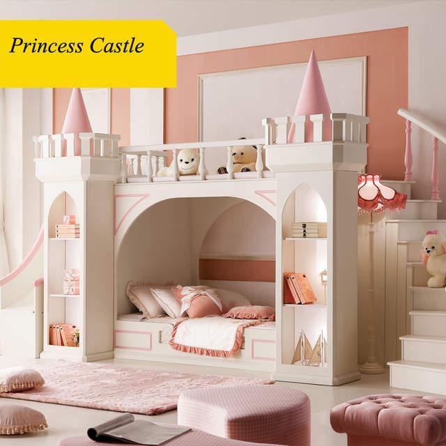 0125TB005 European style modern girl bedroom furniture princess ...