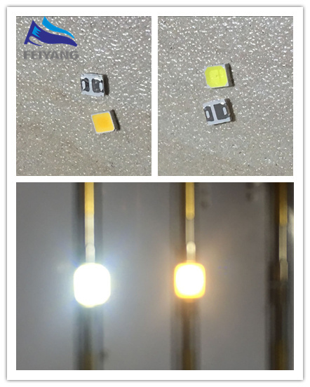 4000PCS/lot White/Warm white 2835 3528 Ultra Bright SMD LED 0.2W 21 23LM light emitting diode chip leds 3.5*2.8*0.8mm 60ma CW/WW