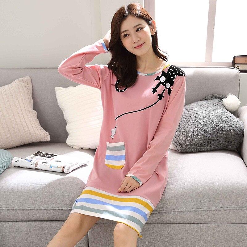 2019 summer lace nightgowns sleepshirts home dress sleep & lounge nightdress sexy nightgown female night wear solid sleepwear