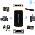 High Quality Universal B2 Wireless Car Bluetooth Receiver 3.5MM AUX Audio Stereo BT 4.1 Bluetooth Audio Music Receiver