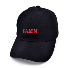 wine red kendrick lamar damn cap embroidery DAMN. unstructured dad hat bone women men the rapper baseball