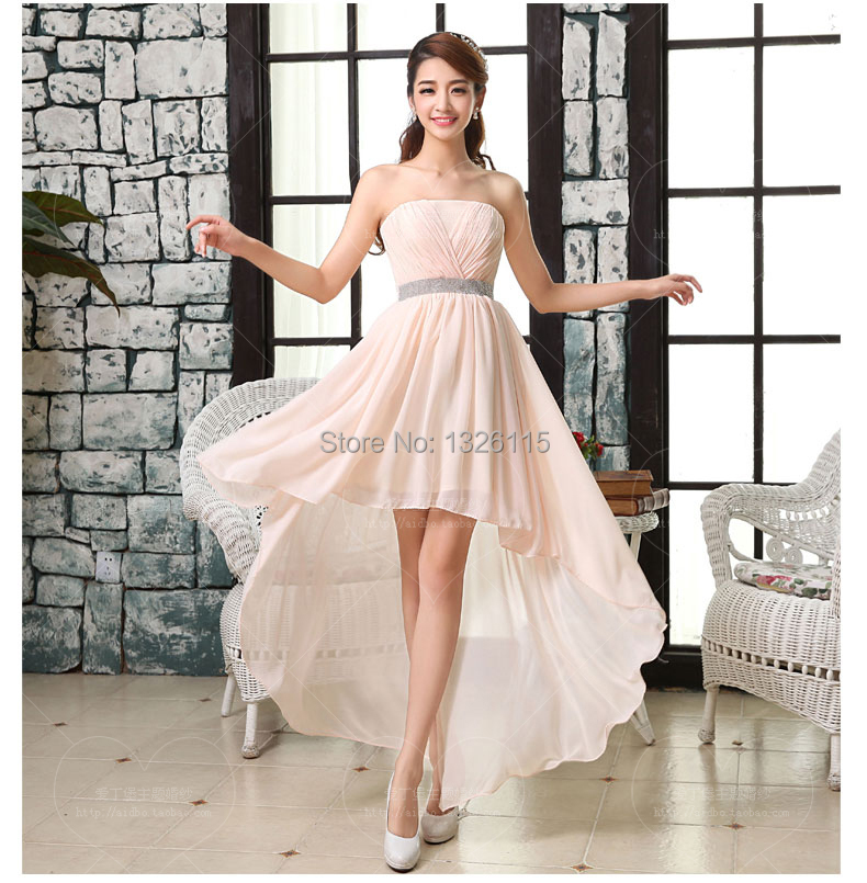 Vestidos de dama honra Bridesmaid Dresses Shoulder Vestido mo Short - candy's sweet shop store