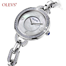 New OLEVS boutique Ladies Fashion Watch top luxury rhinestone quartz watch waterproof bracelet female watch clock Reloje mujer