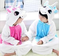 Children Animal Onesie Unicorn Pajamas For Kids Halloween Cosplay Costume For Girls And Boys