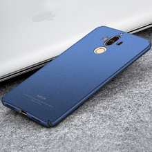 Original MSVII Coque Fundas For Huawei Mate 9 Pro Case Hard Plastic Full Protection Scrub Cover Case For Huawei Mate 9 Back Case