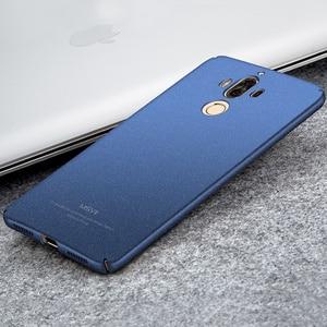Original MSVII Coque Fundas For Huawei Mate 9 Pro Case Hard Plastic Full Protection Scrub Cover Case For Huawei Mate 9 Back Case