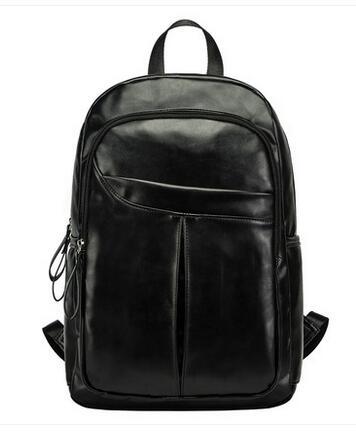 2016 nueva moda mochilas hombres viajan mochila mujeres bolsas de escuela para adolescentes mochilas Monster cuero mochila SAC a dos