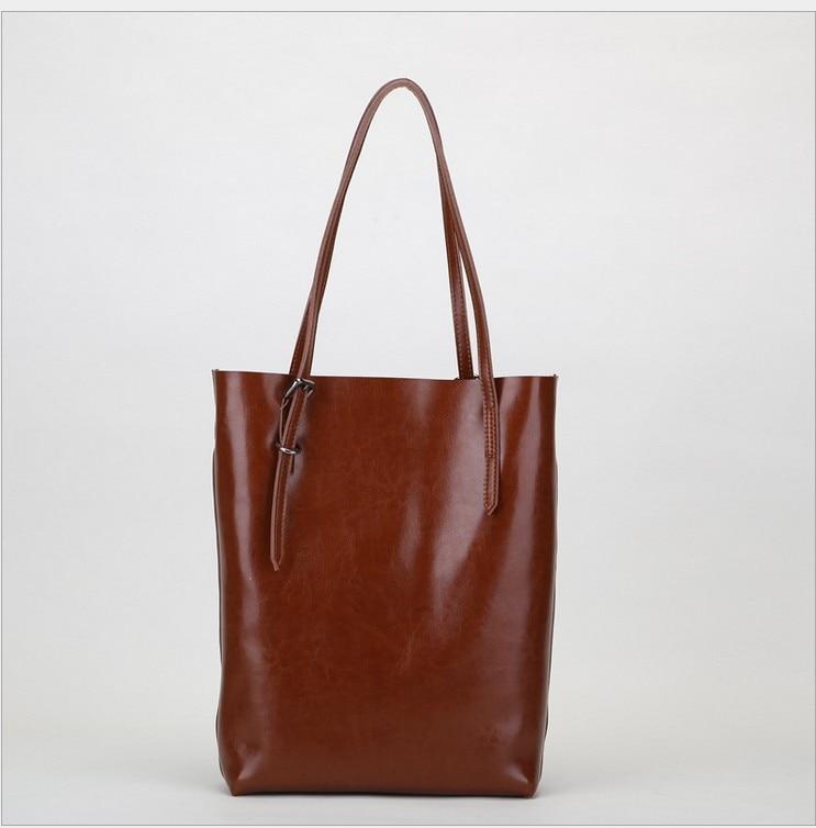 Bolso de cuero bolso de la moda Bolso multifuncional de las mujeres bolso de cuero genuino bolsas de mensajero de las mujeres