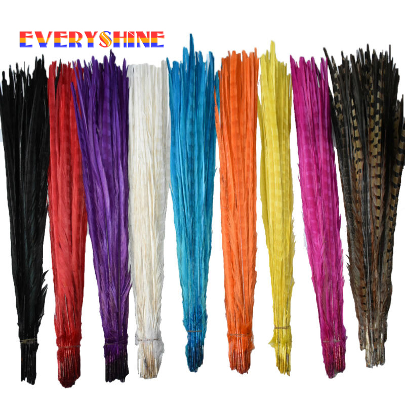 Cheap For Sale 36pcs Dyed Diy Hair Extension Pheasant Tail